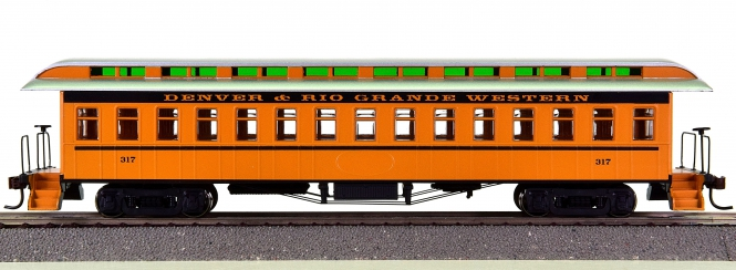 Roundhouse 84862 – Overland Coach der DRGW