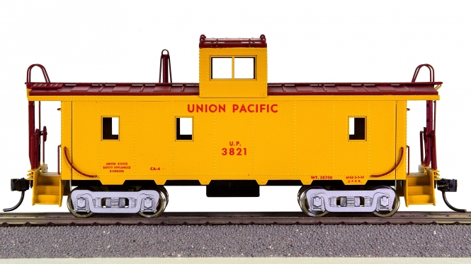 Balboa Scale Models – CA-4 Steel Caboose der Union Pacific (UP)