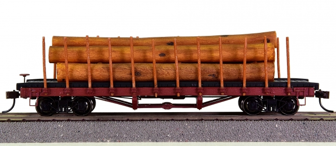 Bachmann 18332 – Log Car with Logs
