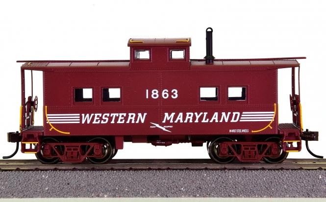 Bachmann 16809 – Northeast Steel Caboose der Western Maryland