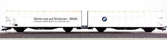 Roco 44162 – Schiebewahdwagen-Doppeleinheit BMW der AAE