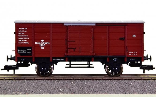 Fleischmann 5885 K - ged. Güterwagen der Meckl. Schweriner Eisenbahn (M.F.F.E)