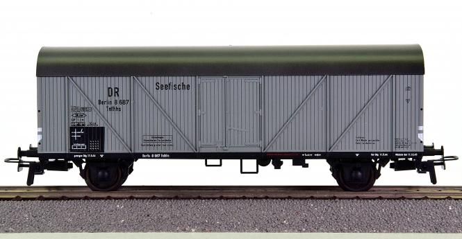 Klein Modellbahn 3208 - Seefischtransport-Wagen Tnfhhs 32 der DRG