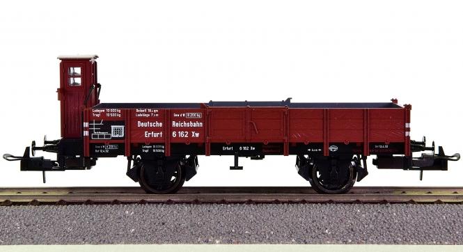 Trix 23588 - offener Güterwagen mit Bremserhaus der DRG