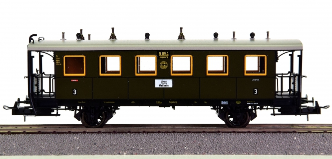 Trix 23709 – 3. Klasse Nahverkehrswagen der DRG