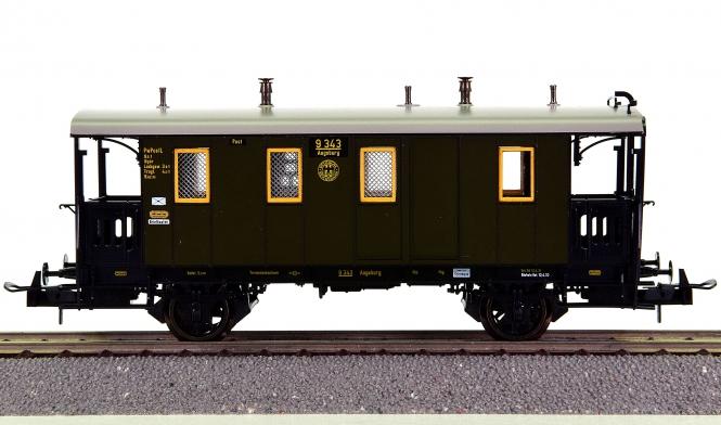 Trix 23710 - Post-/Gepäckwagen der DRG
