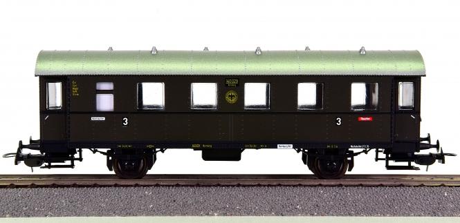 Sachsenmodelle (H0) – 3. Klasse Personenwagen der DRG