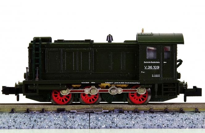 Minitrix 12634 – Rangier-Diesellok BR V 36 der DB