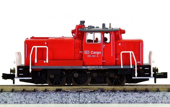 Minitrix 12145 – Rangier-Diesellok BR 360 der DB Cargo