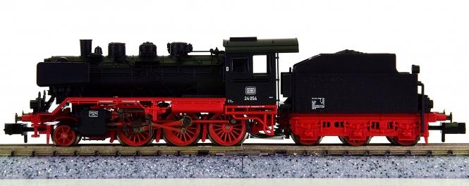 Fleischmann 7142 (N) - Schlepptender-Dampflok BR 24 Steppenpferd der DB