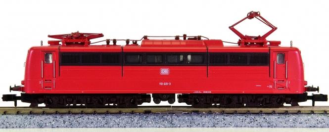 Fleischmann 7382 (N) – Güterzug-Elektrolok BR 151 der DB