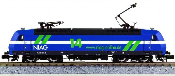 Fleischmann 732302 (N) – Elektrolok BR Re 481 der NIAG