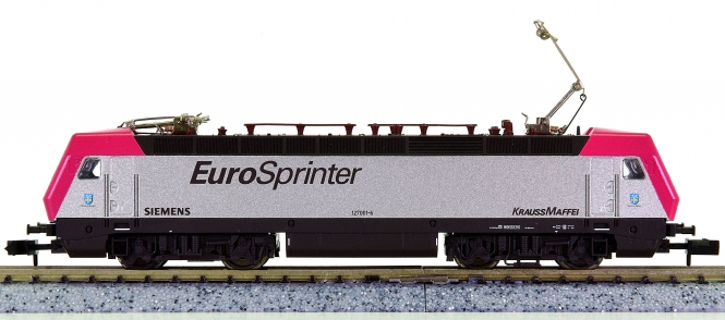 Minitrix 12863 – Mehrzweck-Elektrolok BR 127 EuroSprinter
