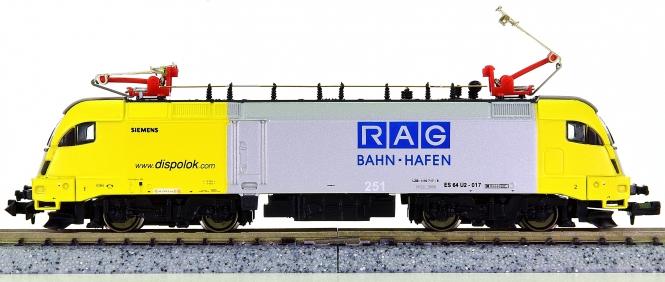 Hobbytrain 240874 (N) – Elektrolok BR 182 der dispolok.com, verm. an RAG B.-H.