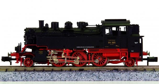 Fleischmann 7063 (N) – Tender-Dampflok BR 64 Bubikopf der DRG