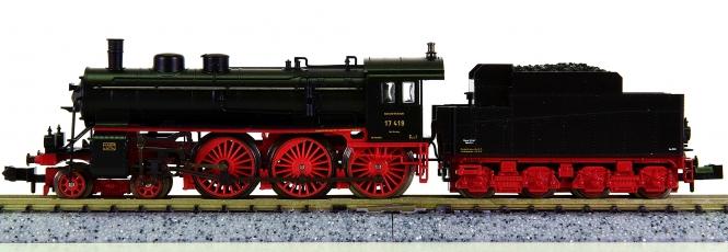 Minitrix 12222 – Schlepptender-Dampflok BR 17 der DRG