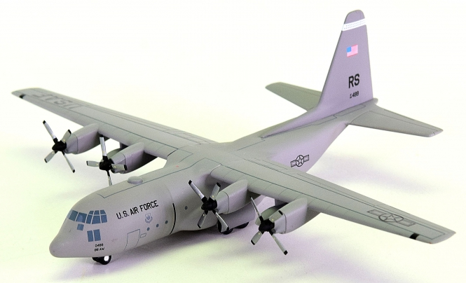 "Herpa Wings 551779 (1:200) – USAFE Lockheed C-130 Hercules ""37th Airlift SQD, Ramstein AB"""