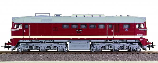 Roco 73803 – Diesellok Taigatrommel BR 120 der (D)DR, digital + Sound