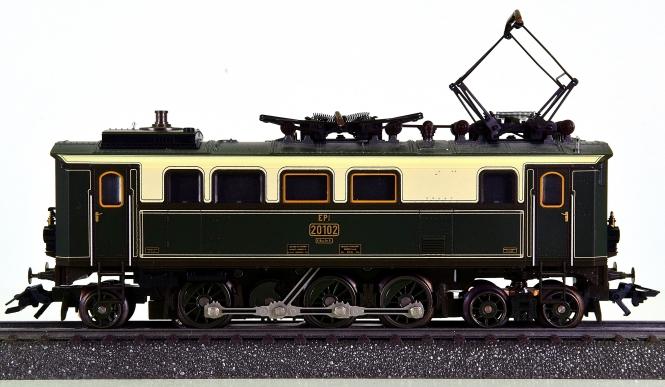 Märklin 37060 – Personenzug-Elektrolok EP 3/6 der K.Bay.Sts.B., digital (MM)