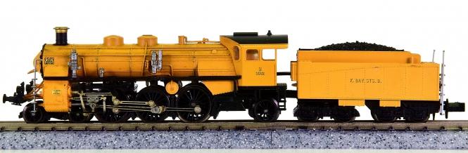 Arnold 2547 – Schlepptender-Dampflok BR S 3/6 der K.Bay.Sts.B.