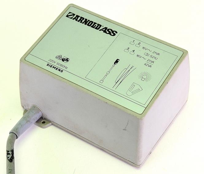 Arnold 7096 – Transformator, primär 220 V, 42 VA