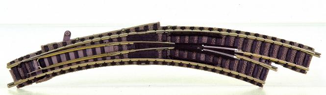 Fleischmann 9175 (N) – Bogenweiche rechts R1/R2