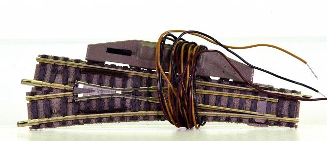 Fleischmann 9178/6441 (N) – elekt. Weiche links, mit stromleitendem Herzstück