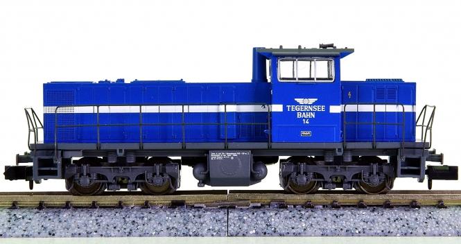 Minitrix 11476-1 – Mehrzweck-Diesellok MAK 1206 der Tegernsee Bahn