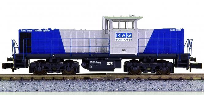 Minitrix 11200 – Mehrzweck-Diesellok MAK 1206 Ruhrpott-Sprinter der RAG