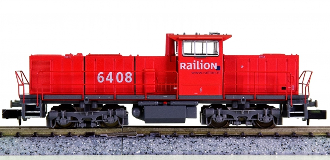 Minitrix 12796 – Mehrzweck-Diesellok MAK 1206 der Railion NL