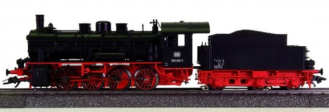 Märklin 37554 – Schlepptender-Dampflok BR 055 der DB, mfx + Sound