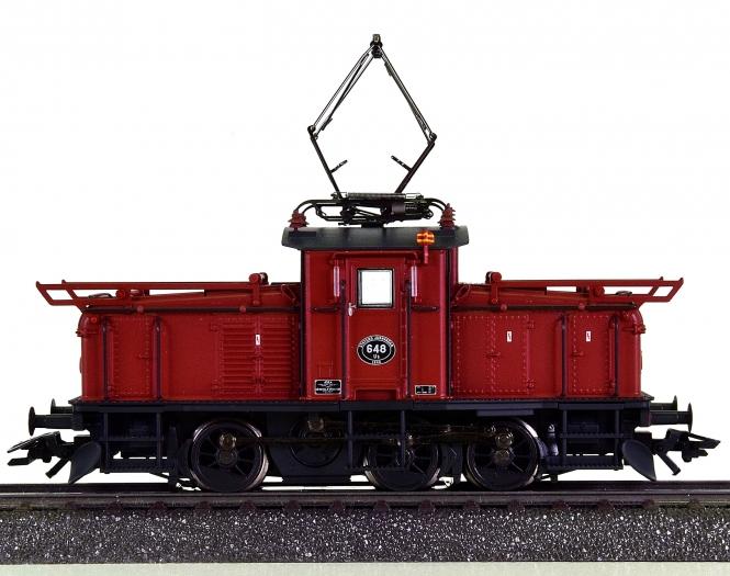 Märklin 36335 – Rangier-Elektrolok Reihe Ub der SJ, digital (mfx)