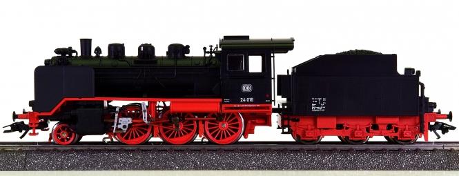 Märklin 36240 – Schlepptender-Dampflok Steppenpferd BR 24 der DB, digital