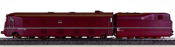 Märklin 39053 – Stromlinien-Dampflok BR 05 der DRG, mfx+ / Sound + Rauch