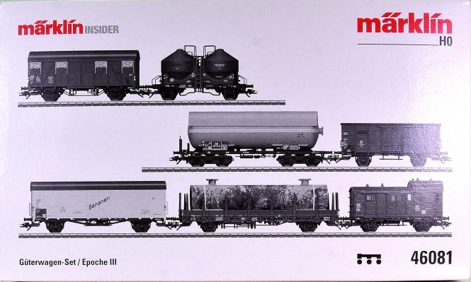 Märklin 46081 – Güterwagen-Set Epoche III der DB