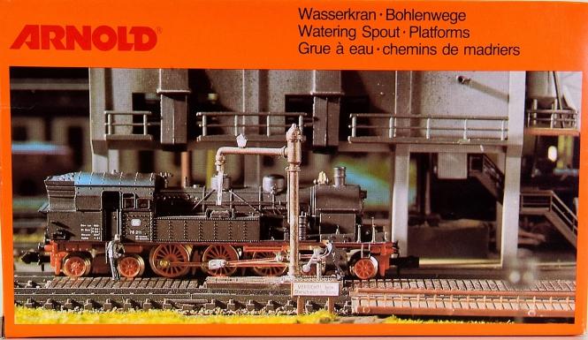 Arnold 6300 - Bausatz Wasserkran und Bohlenwege