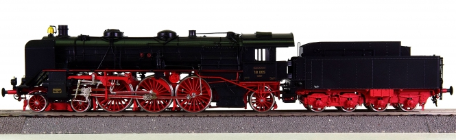 Brimalm Engineering – Schlepptender-Dampflok BR 18 der DRG, Messing-Modell