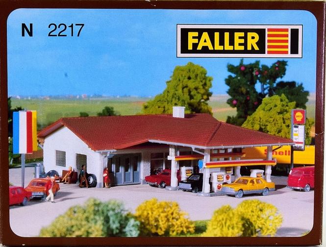 Faller 2217 (N) - Bausatz Tankstelle