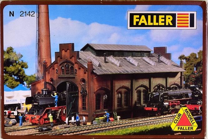 Faller 2142 (N) - Bausatz Lok-Werkstatt