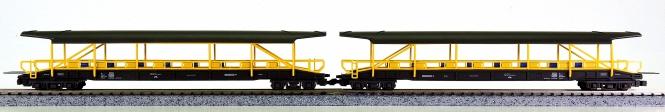 Hobbytrain H23061 (N) - 2-tlg. Autoverladewagen-Set der BLS, Ergänzung zu 23060