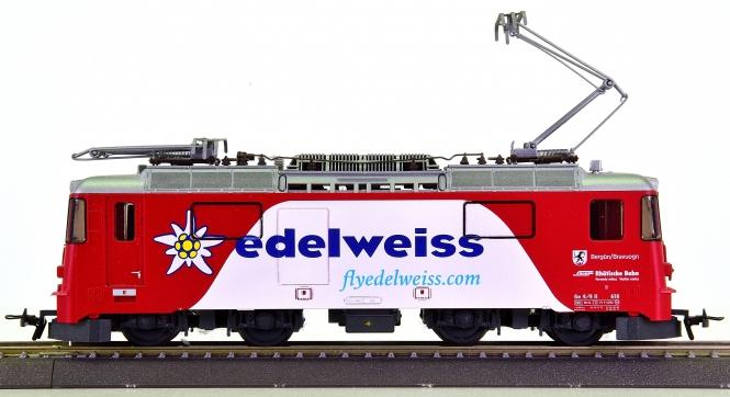 Bemo 1258 168 (H0m) – Elektrolok Ge 4/4 II -edelweiss- der RhB
