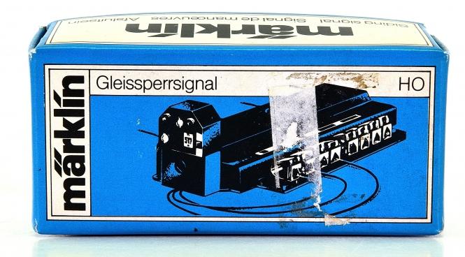 Märklin 7242 – Licht-Sperrsignal mit Zugbeeinflussung, Sh0, Sh1