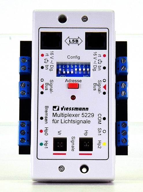 Viessmann 5229 - Multiplexer für Lichtsignale mit Multiplex-Technologie