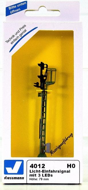 Viessmann 4012 – Licht-Einfahrsignal, mit 3 Leds