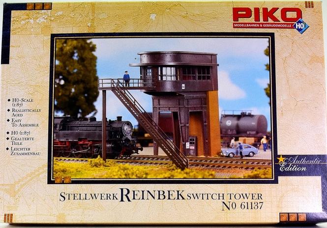 Piko 61137 - Bausatz Stellwerk Reinbek