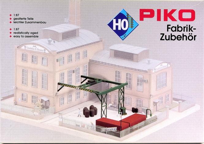 Piko 61119 – Bausatz Glashütte Fabrikzubehör