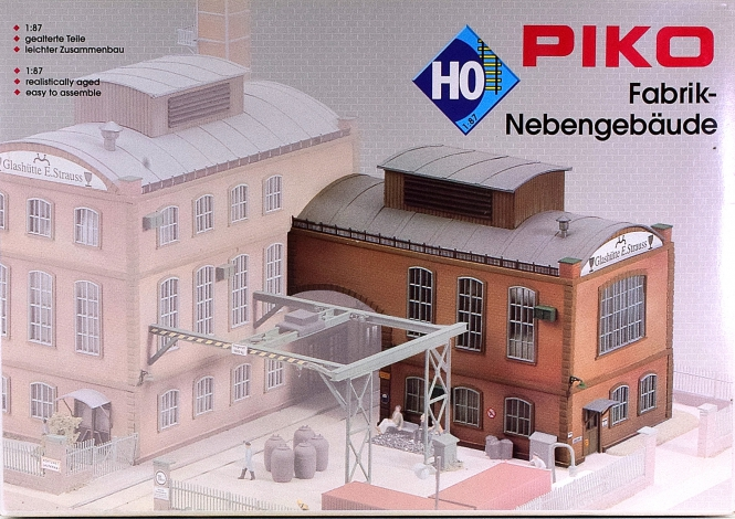 Piko 61117  – Bausatz Nebengebäude der Glashütte E. Strauss