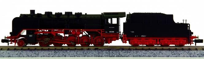 Fleischmann 718083 (N) - Schlepptender-Dampflok BR 50 der DRG, digital (DCC)