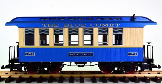 "Piko 38620 (G/IIm) – Personenwagen / Passenger Coach ""Blue Comet"" der CNJ"