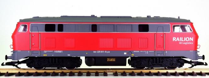 Piko 37508 (G/IIm) - Mehrzweck-Diesellok BR 225 der DB Railion Logistics
